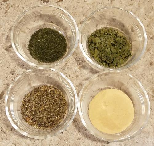 Kitchen Garden Harvest Ingredients